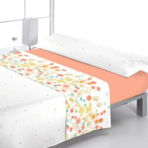 juego de sábanas reig marti modelo azimut naranja