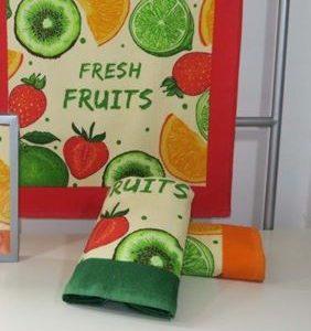 Paño de cocina Trovador modelo Fruits