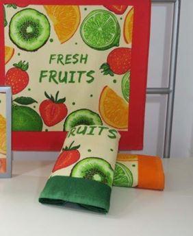 paños de cocina frutis