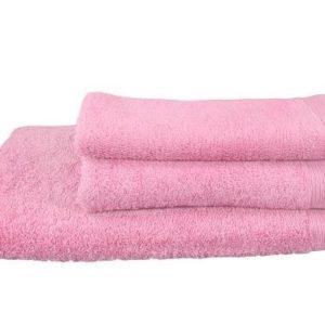 toalla color rosa para hogar y hosteleria