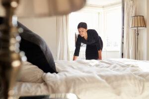 como hacer la cama